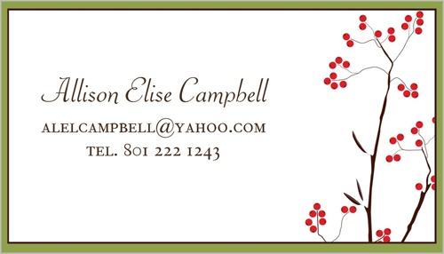 Petite Lemon Custom Business Cards Creative & Personal