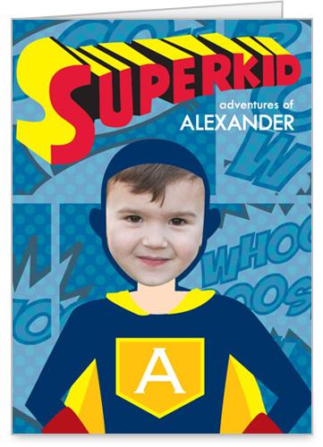 Superkid Adventures Birthday Card by treat.