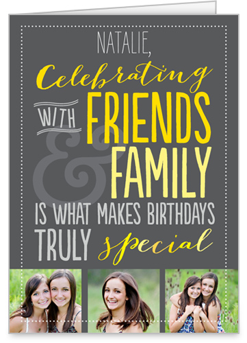 Celebrate Together Birthday Card by treat.