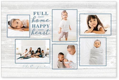 Full Home Happy Heart Acrylic Print
