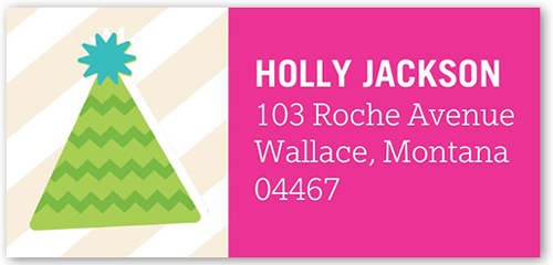 multicolor christmas address labels holiday address labels