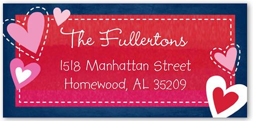 Charming Greetings Address Label