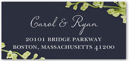 Budding Romance Address Label