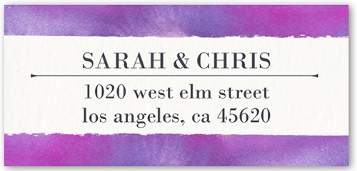 Romantic Wonder Address Label