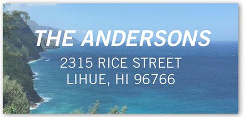 Sheer Merriment Address Label