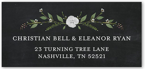 Lovely Laurel Address Label