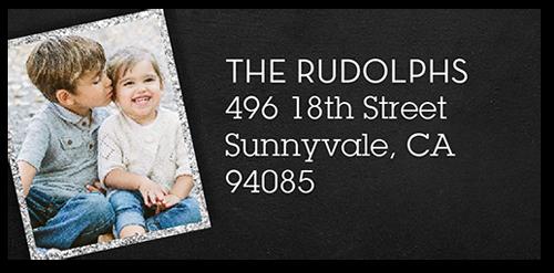 Joyous Frames Address Label