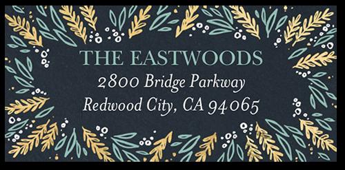 Joyful Foliage Address Label