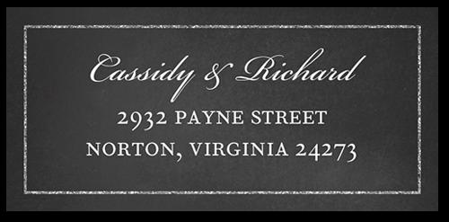 Vivid Matrimony Address Label