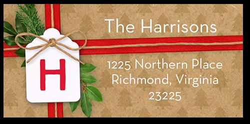 Wrapped Sentiment Address Label