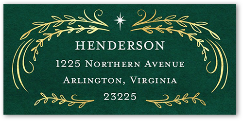 Let There Be Peace Address Label