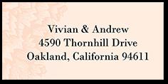 wedding address labels wedding return address labels shutterfly