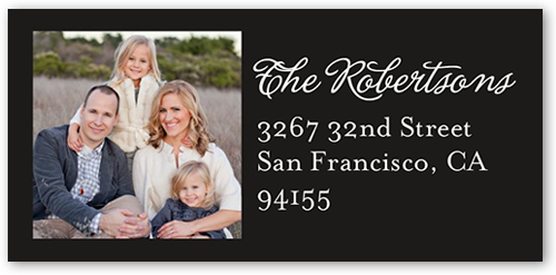 Our Moments Address Label