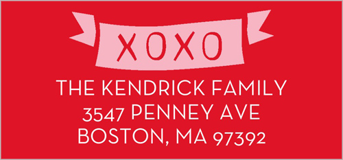 Sent With Love Address Label