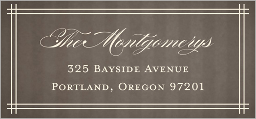 Joys Of Home Address Label