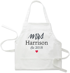 for the mrs apron