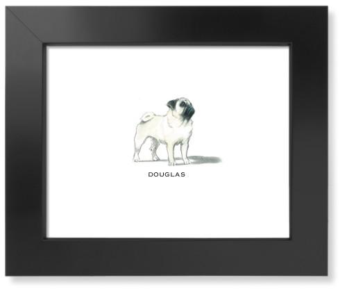 Best In Show Pug Art Print Wall Decor Shutterfly
