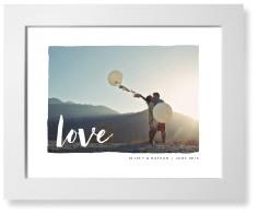 love script art print