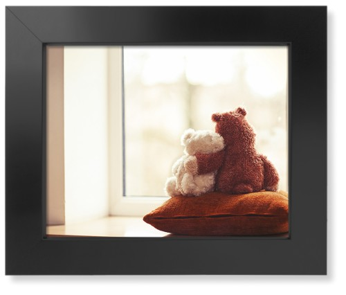 Bear Friends Art Print, Black, Pearl Shimmer Card Stock, 11x14, Multicolor