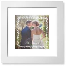foliage frame art print
