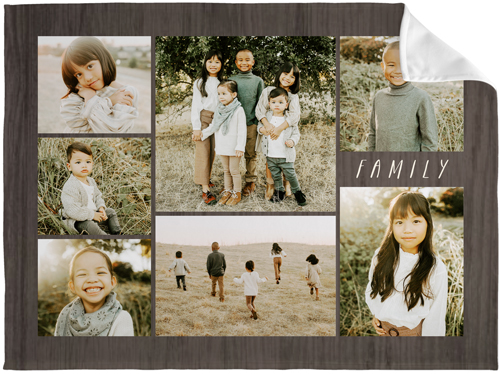 Picture Gallery Collage Of Seven Fleece Photo Blankets Shutterfly