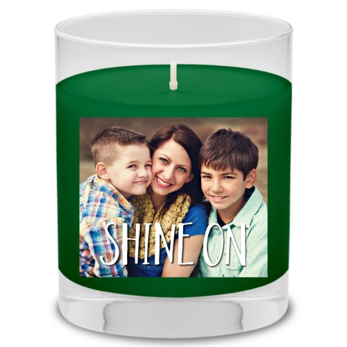 Shine On Candle, Evergreen Forest, Multicolor
