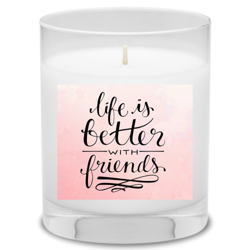 Life With Friends Candle