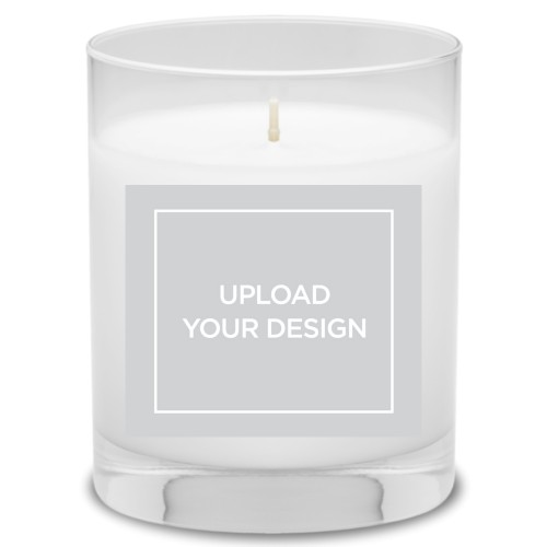 Upload Your Own Design Candle, Grapefruit Blossom, Multicolor