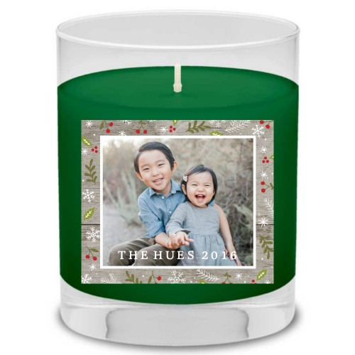 Rustic Holly Berry Candle