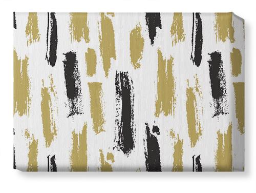 Brushstroke Lines Canvas Print, None, Single piece, 10 x 14 inches, Multicolor