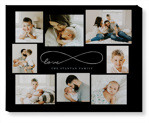 Love Infinity Canvas Print