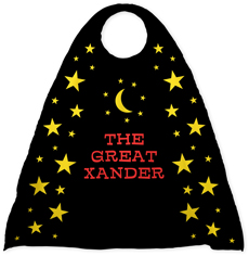 Yellow Personalized Kid's Capes | Kids Superhero Capes