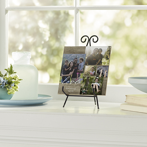 Quote All Around Collage Ceramic Tile   Shutterfly