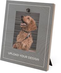 upload your own design clip photo frame