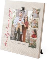 family love joy clip photo frame