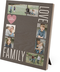 love family collage clip photo frame