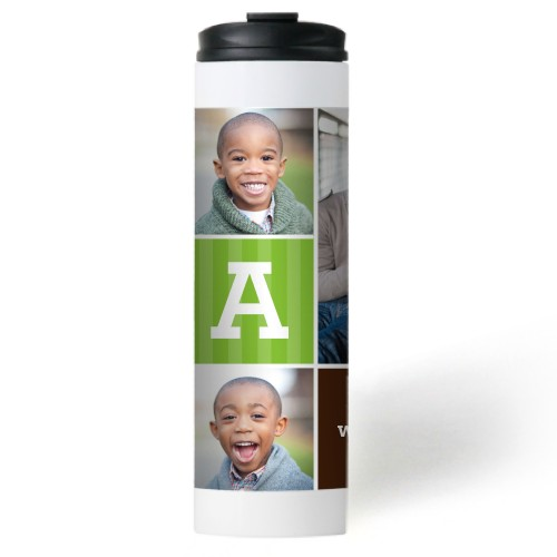 Dad Color Blocks Stainless Steel Travel Mug