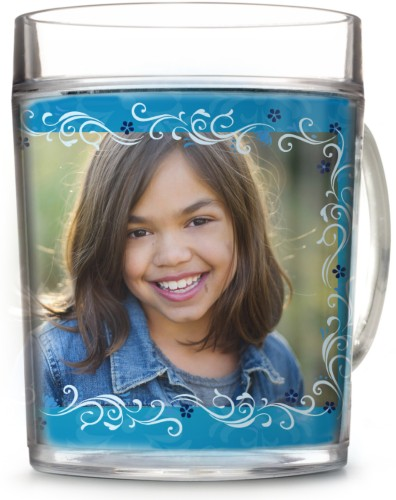 Disney Frozen Anna And Elsa Cup, 12oz Cup, Blue
