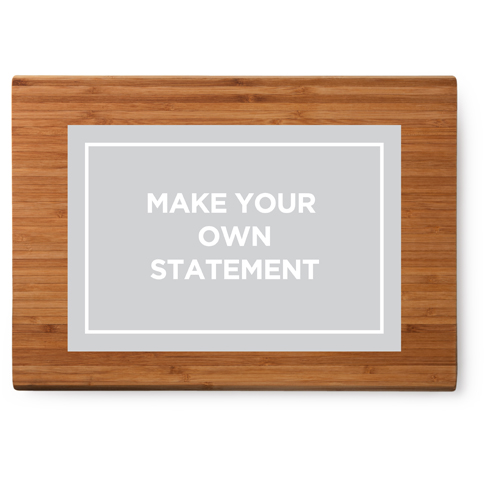 Make your own statement cutting board by shutterfly for Make your own chopping board