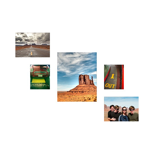 Step & Repeat Five Left Acrylic Prints