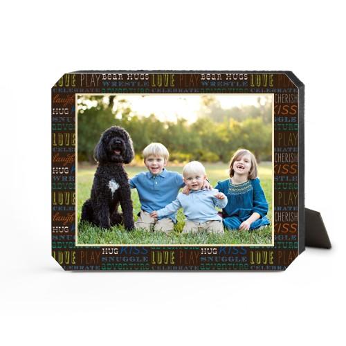 Family Moments Desktop Plaque, Ticket, 8 x 10 inches, Multicolor