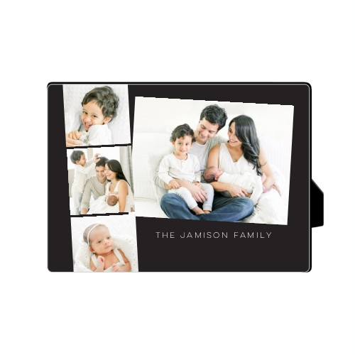 Gallery Filmstrip Desktop Plaque, Rectangle, 5 x 7 inches, Grey
