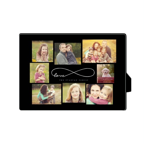 Love Infinity Desktop Plaque, Rectangle, 5 x 7 inches, DynamicColor