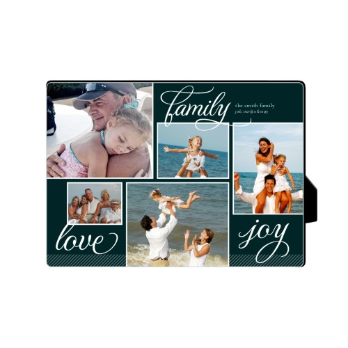 Family Sentiments Desktop Plaque, Rectangle, 5 x 7 inches, Black