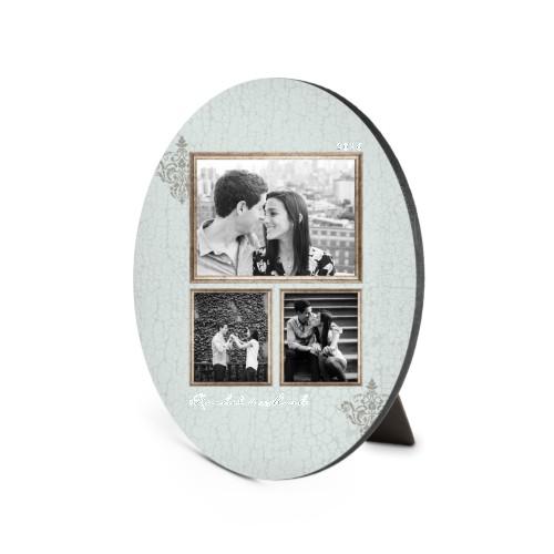 Trio Country Frame Oval Desktop Plaque