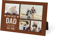 all star dad easel back canvas