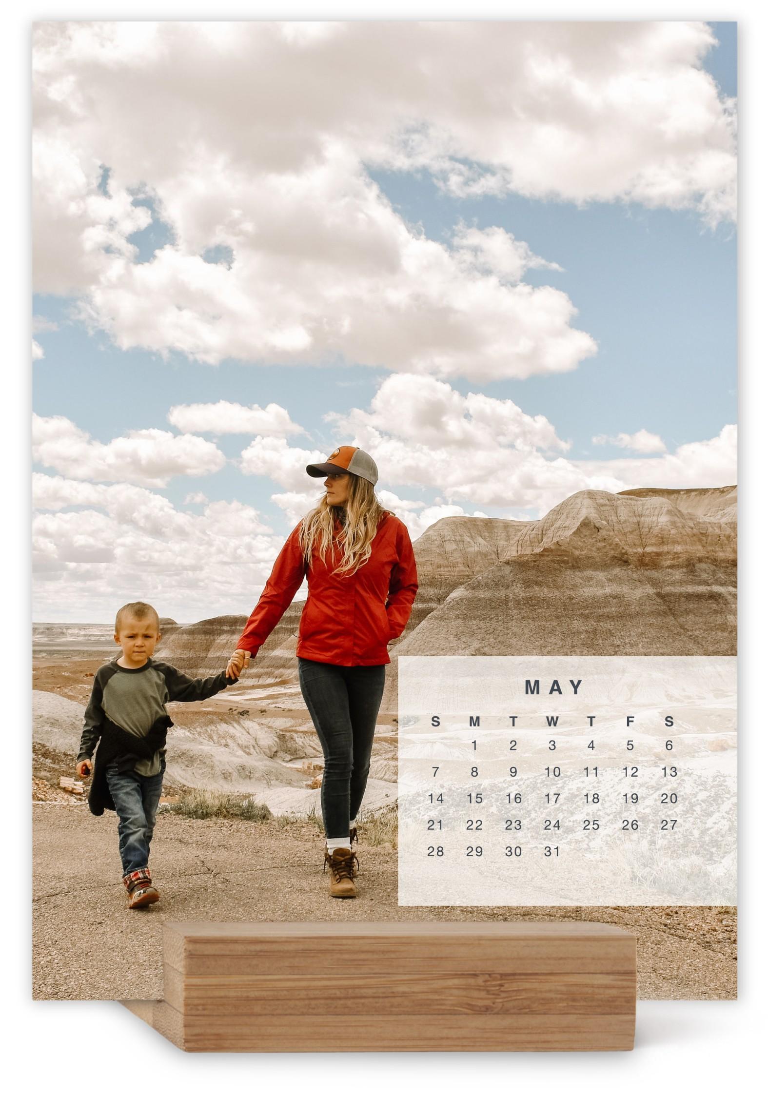calendar overlay easel calendar