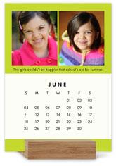 colorful gallery easel calendar