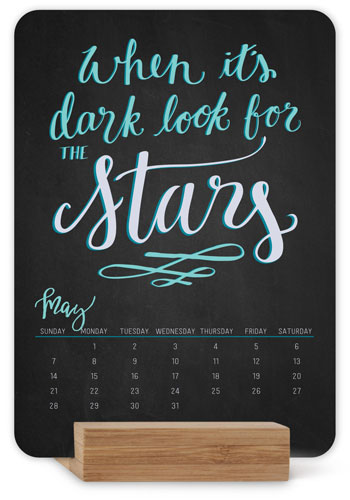 Inspirational Quotes Easel Calendar