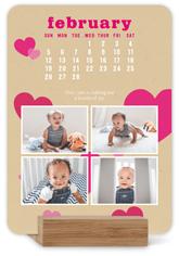 kraft pop easel calendar